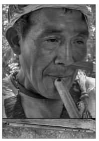 Figura 1. Flauta Kotiráp. Fotos: Julien Meyer.