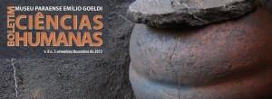 Capa: Boletim do Museu Paraense Emílio Goeldi. Ciências Humanas (v. 8 n. 3, set.-dez. 2013)