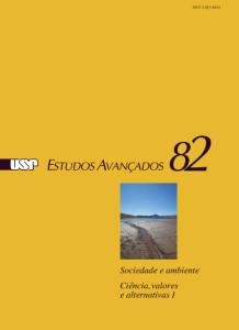 PreRel_EA_Relações sociedade ambiente ciência valores temas nova edição Estudos Avançados