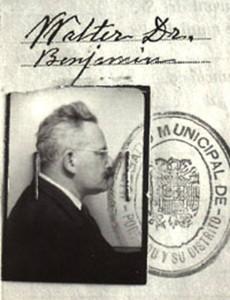 Identificação de Walter Benjamin no livro de  óbitos do registro civil de Portbou, 1940