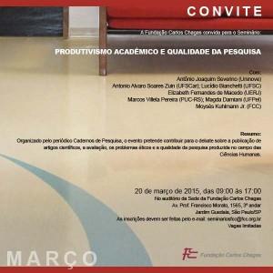 ChaEve_CP_Seminário Produtivismo acadêmico qualidade pesquisa Ciências Humanas