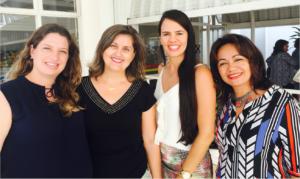 Sinara Pollom Zardo, Isabela Cristina Marins Braga, Aline Veiga dos Santos e Ranilce Guimarães-Iosif
