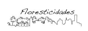 Logomarca do projeto FLORESTICIDADES: Estudos para a sustentabilidade de ecossistemas urbanos na Região Metropolitana de Manaus.